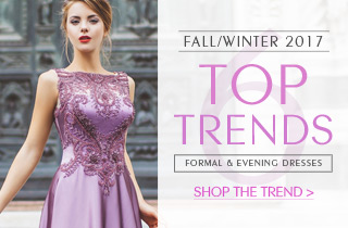 6 Top Formal Dresses Trends For Fall/Winter 2017