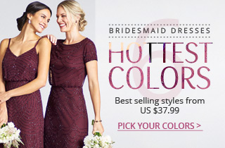 6 Hottest Colors Of Bridesmaid Dresses