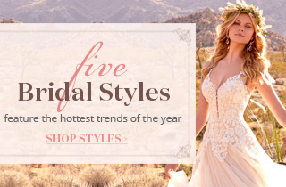5 Bridal Styles Feature the Hottest Trends Of The Year