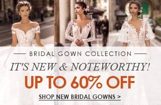 New & Noteworthy Bridal Gown Collection
